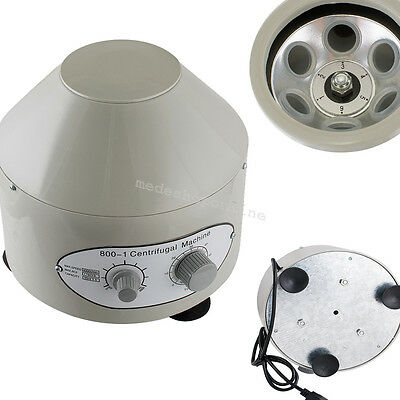 Durable Electric Centrifuge Machine 4000rpm Lab Medical Practice Large Capacity