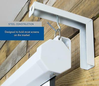 PrimeCables® Set of 2 Projector Projection Screen Hanger