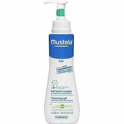 Mustela BEBE Cleansing Gel with Cold Cream nutri-protective 300ml 10fl.oz.WINTER