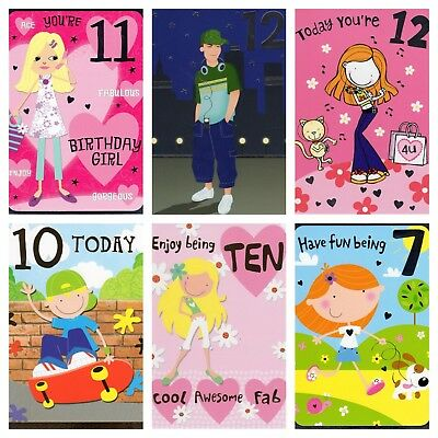 Birthday Cards Happy Various No Ages Characters Thomas Barbie Card Boys Girls