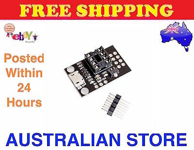 Attiny85 45 25 13A Micro USB Programming Development Board For Arduino ATTINY45