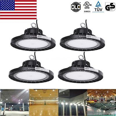 4X 100W Bright IP66 Aluminum alloy LED High Bay Lamp Industrial TUV Listed S4P6