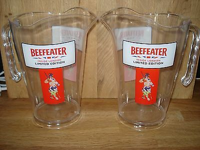 Beefeater Gin  pitcher jugs X2  inside london ltd  edt brand new free p+p