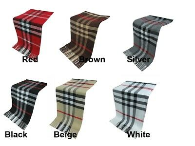 Men Plain Supersoft Luxury cashmere Scarf