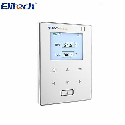 Used Elitech RCW800 WIFI Temperature and Humidity Data Logger Wireless Monitor