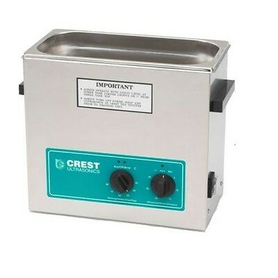 Crest Powersonics CP500HT Ultrasonic Cleaner w/ Analog Timer & Heat 1.5 Gallon