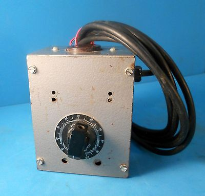 Superior Electric Powerstat Autotransformer 120 Vac Variable Power Supply