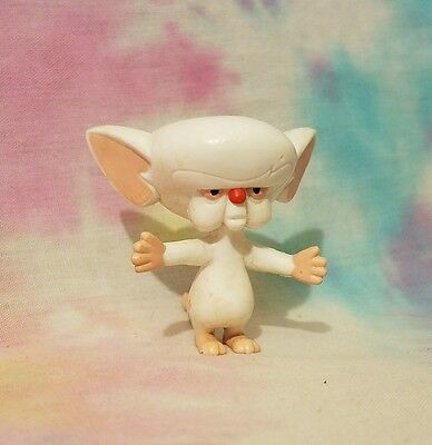 Animaniacs Pinky And The Brain BRAIN Bend-ems Figure Just Toys WB 1994
