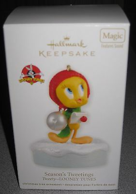 NIB Hallmark Keepsake Christmas Ornament - Season's Tweetings (2008). MINT