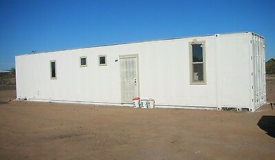 Custom Build 48 FT Container Home WOW HUGE Self Contained 1 Bedrooms Bathroom