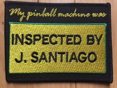 Pinball Inspection Embroidered Patch / Crest