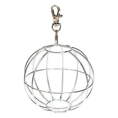 SS Feedball Ball Metal Rodent for Rabbit Guinea Pig Rabbit Chinchillas Hamster