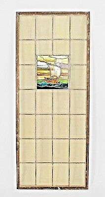 English Arts & Crafts Stained Glass and Leaded Window