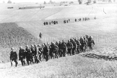 WWII German soldiers Invasion of Poland 1939 WW2 photo photograph 4x6