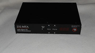 Contemporary Research 232-MTA Agile Mono TV Tuner/Demodulator