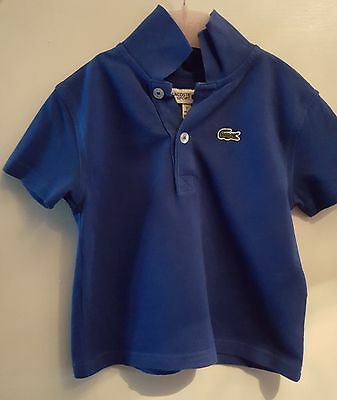 Babys Lacoste Polo Shirt Age 2