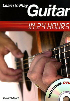 Learn To Play Guitar in 24 Hours - Guitar - Score + DVD