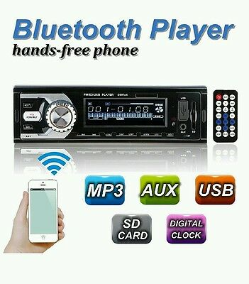 OUTERDO Bluetooth Vehicle Car Stereo MP3 Player with FM Radio Audio Media Receiv