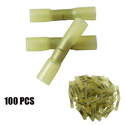 100pcs Terminals Heat Shrink Insulated Electrical Car Audio Wire Connectors