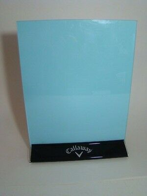 """Callaway Golf Acrylic Picture Frame 8 1/2"""" x 11"""" Sign Holder"""