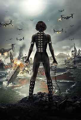 Resident Evil Poster A4 A3 A2 A1 Gift Present SW0927
