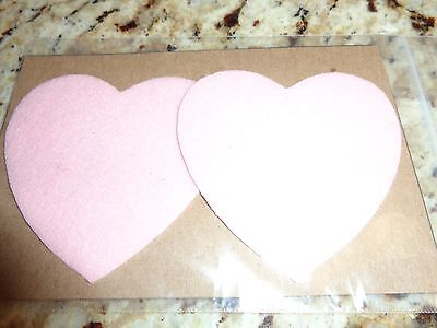 Womens Nipple Covers/ Pasties  Pink Hearts