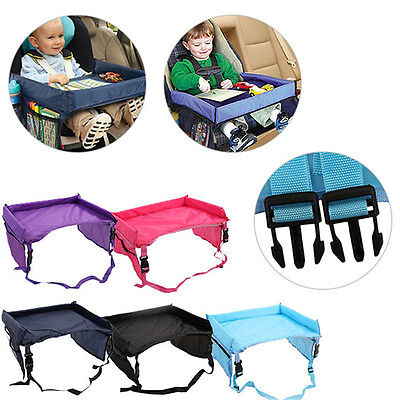 High quality Waterproof table Car Seat Tray Storage Kids Toys Infant Stroller