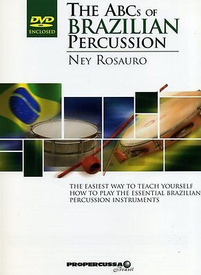 The ABCs Of Brazilian Percussion - Drums - Score + DVD