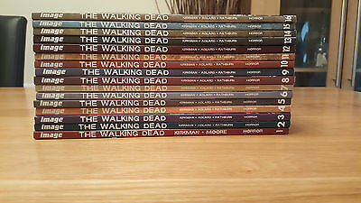 Walking Dead Volumes 1-16