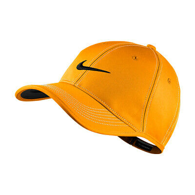 NEW Nike Ultralight Contrast Cap - Vivid Orange/White (Black)