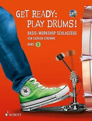Get Ready - Play Drums ! - Schlagzeug - Band 1 - Partitur + CD