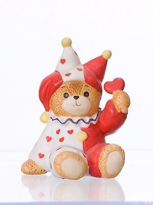 ENESCO Lucy & Me 1984 Jester Costume Bear with Love!