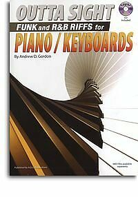 Outta Sight Funk and R&B Riffs for Piano/Keyboards - Piano/Keyboards - Score + C