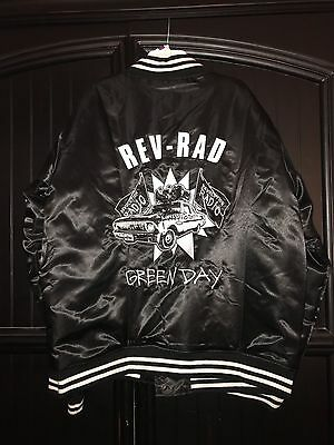 """Green Day Band Rev-Rad Jacket """"LIMITED ADDITION"""" Brand New"""