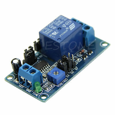 1x DC 12V Delay Relay Delay Turn on / Delay Turn off Switch Module with Timer