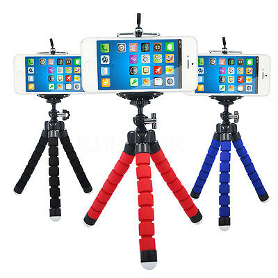 Universal Octopus Stand Tripod Mount Holder For Smart Phone Cell Phone Camera
