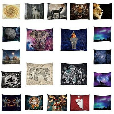 Mandala Tapestry Indian Wall Hanging Decor Hippie Throw Bedspread Mat Multistyle