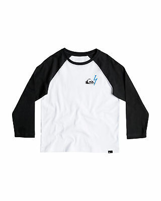 NEW QUIKSILVER™  Boys 2-7 Paradise Time Long Sleeve T Shirt Boys Children Tops