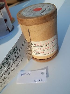 Magnet wire AWG 48, roll of .128kg ,MW, as per picture, NOS (W36)
