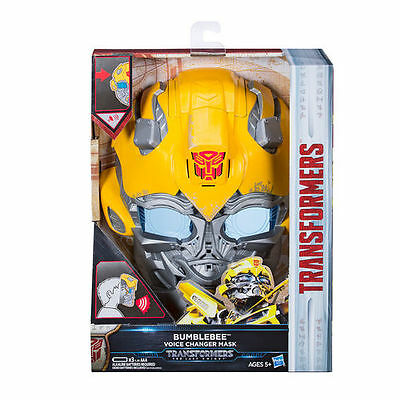 100% Hasbro Transformers MV5 Last Knight Voice Changer Mask Bumblebee AU