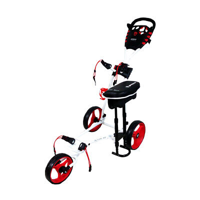 NEW Brosnan X-Type 3.0 Golf Buggy - White Red