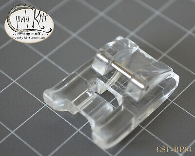 Clip-On Pearl and piping foot