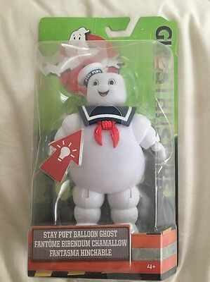 Ghostbusters - Stay Puft Balloon Ghost Illuminating Figure New & Official In Box
