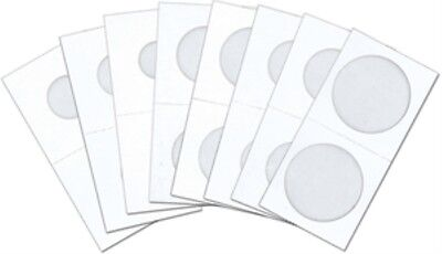 25 Pack - COWENS MYLAR 2x2 CARDBOARD COIN HOLDERS LARGE DOLLAR SIZE FLIPS - #956