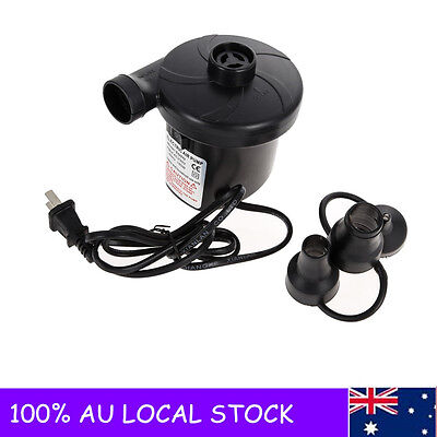 220V DC Electric Air Pump Inflate Deflate for Air Bed Compression Mattress Toys