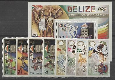 Olympiade 1984, Olympic Games - Belize - ** MNH