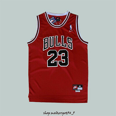 Michael Jordan Stitched Chicago Bulls #23 Basketball Jersey Red Men Jersey