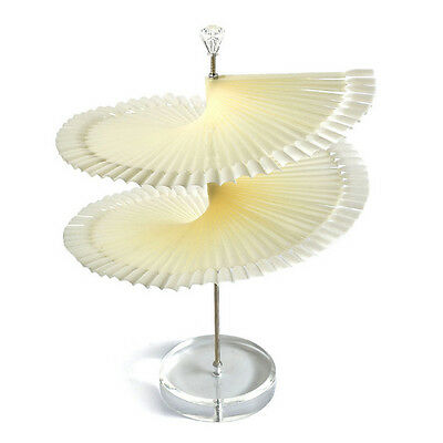 120P Pop Spiral Display Fan Stick Polish Nail Tips Practice Stand Rack Show Card