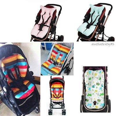 Rainbow Kids Baby Buggy Seat Liner Pushchair Mat Car Seat Pad Stroller Cushion
