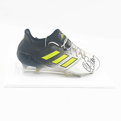 Acrylic Football Boot Display Case - WHITE BASE (Double)